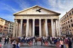 Pantheon, Rome, Italië Stock Afbeeldingen
