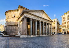 Pantheon in Rome, Italië Royalty-vrije Stock Fotografie