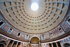The Pantheon, Rome, Italy. Inside the Pantheon, Rome, Italy Royalty Free Stock Image