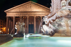 The Pantheon in Rome, Italy. Royalty Free Stock Photos