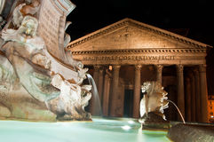 The Pantheon in Rome, Italy. Stock Photo
