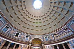 the Pantheon, Rome, Italy. Stock Photography