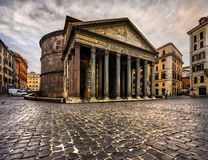 The Pantheon, Rome, Italy. Royalty Free Stock Photo