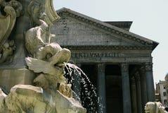 pantheon rome italy Royaltyfri Fotografi