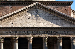 Pantheon in Rome, Italy. Ancient Panteon in Rome, Italy Stock Image