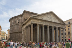 Pantheon in Rome. Stock Image