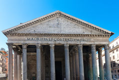 The Pantheon, Rome, Italy. Royalty Free Stock Images