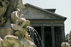 Pantheon, Rome. ITALY Royalty Free Stock Photography
