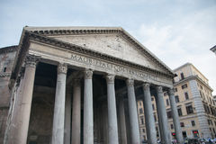 The Pantheon in Rome, Italy Royalty Free Stock Photos