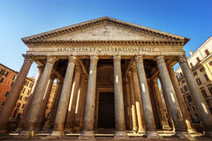 Pantheon in Rome, Italy Stock Photography