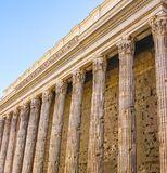 The Pantheon in Rome, Italy. The Exterior of the Pantheon in Rome, Italy Stock Photography