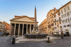 Pantheon, Rome, Italy Royalty Free Stock Images