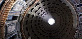 PANTHEON, ROME, ITALY interior Royalty Free Stock Images