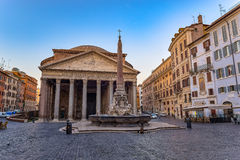 Pantheon - Rome - Italy Royalty Free Stock Photography