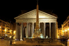 Pantheon - Rome, Italy Royalty Free Stock Images
