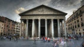 Pantheon Rome stock video