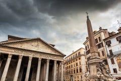 Pantheon, Rome, Italy Royalty Free Stock Image