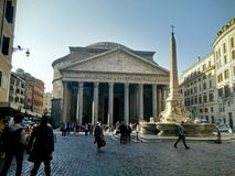 Pantheon Rome Italy Royalty Free Stock Image