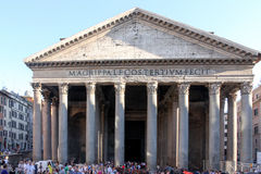 Pantheon Rome Italy Royalty Free Stock Images