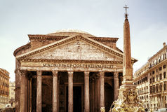 The Pantheon in Rome, Italy Stock Photos