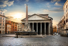 Pantheon in Rome, Italy Royalty Free Stock Image