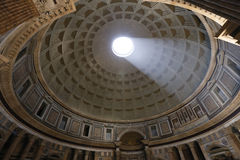 Pantheon, rome. View of the interior of the Pantheon, Rome, Italy royalty free stock photography