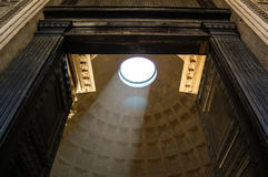 Pantheon Roof Stock Photo