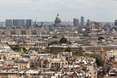 Pantheon and Saint Sulpice Paris Stock Image