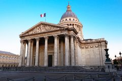 The Pantheon is a secular mausoleum , Paris, France.