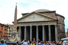 The Pantheon on september 26, 2012 in Rome, Stock Image
