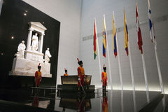 Pantheon simon bolivar Royalty Free Stock Images