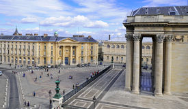 The Pantheon and the Sorbonne Stock Images