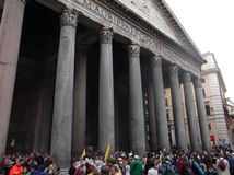 Pantheon square Stock Photo