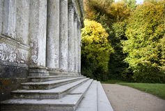 Pantheon in Stourhead tuinen, Wiltshire Royalty-vrije Stock Afbeelding
