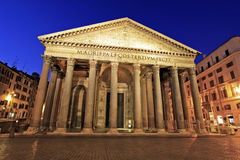 The Pantheon at Sunrise Royalty Free Stock Photo