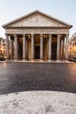 Pantheon at sunrise, Rome, Italy Royalty Free Stock Photography