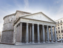 The Pantheon temple, Rome, Italy. Royalty Free Stock Image