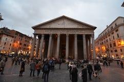 Pantheon, town square, landmark, city, public space. Pantheon is town square, public space and ancient rome. That marvel has landmark, tourist attraction and stock image