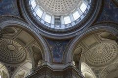 Pantheon von Paris, Innen Lizenzfreie Stockfotos