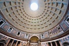 Pantheonen, Rome, Italien. royaltyfri bild