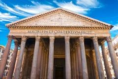 Pantheonen, Rome, Italien. Arkivfoton