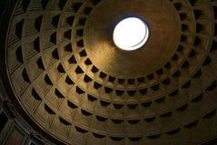 Pantheonhaube, Architekturhintergrund Lizenzfreies Stockbild