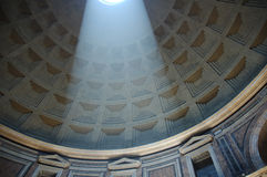 Pantheoninnenraum Lizenzfreies Stockfoto
