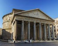 Pantheonpanorama Royalty-vrije Stock Foto's