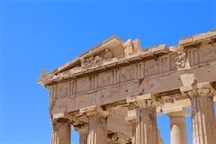 Pantheonspalten Stockbilder