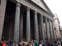 Pantheonvierkant stock foto