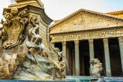 Pantheonvierkant royalty-vrije stock foto