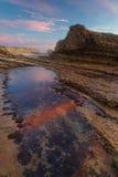 Panther Beach. At sunset, California, USA Stock Photo