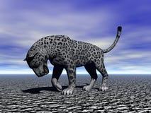 Panther black Stock Image