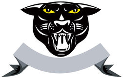 Panther black Stock Photography